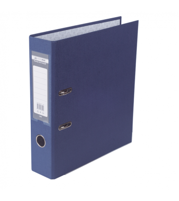 Папка-регистратор А4 70мм односторонняя синяя Lux, Buromax
