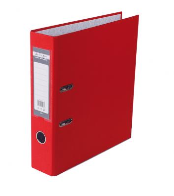 Папка-реєстратор А4 70мм одностороння червона Lux, Buromax