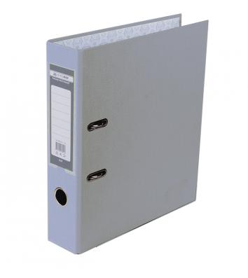 Папка-регистратор А4 70мм односторонняя серая Lux, Buromax