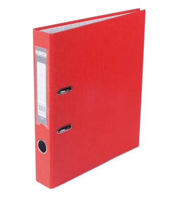 Папка-реєстратор А4 50мм одностороння червона Lux, Buromax