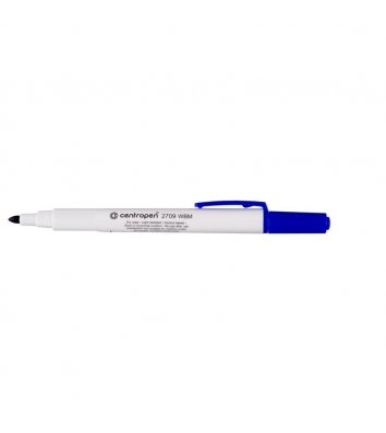 Маркер для дошок 2709, колір чорнил синій 1-2 мм, Centropen
