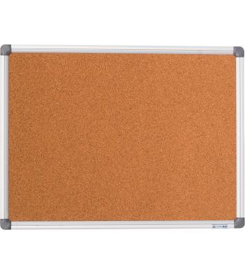 Доска пробковая 60*90см, рамка алюминиевая, Buromax