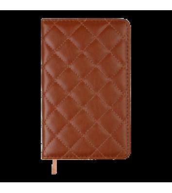 Щоденник датований A6 2022 Donna Line світло-коричневий, Buromax