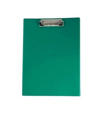 Планшет А4 с прижимом PVC зеленый, Buromax