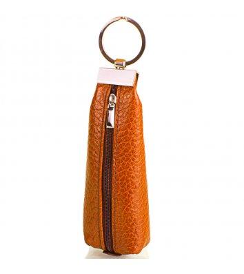Ключниця шкіряна помаранчева, Desisan