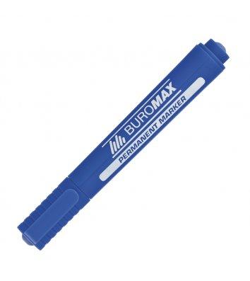 Маркер перманентний, колір чорнил синій 2-4мм, Buromax