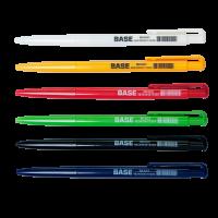 Ручка шариковая автоматическая Base, цвет чернил черный 0,7мм, Buromax