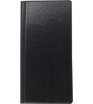 Визитница на 96 визиток черная, Buromax