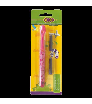 Набор ручка перьевая и 2 сменных патрона, Zibi