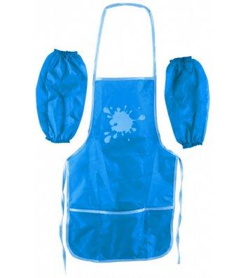 Фартух з нарукавниками блакитний, Cool for School