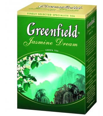 "Чай зелений Greenfield ""Jasmine Dream"" заварний 100г"