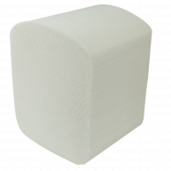 Папір туалетний двошаровий 150шт Buroclean целюлозний, білий