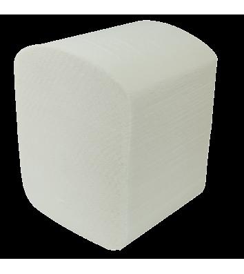 Туалетная бумага двухслойная 150шт Buroclean целлюлозный, белый