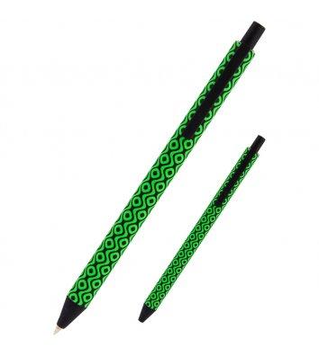 Ручка шариковая автоматическая Snake, цвет чернил синий 0,5мм, Axent