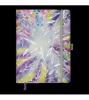 Ежедневник датированный A5 2021 Cherie фиолетовый, Buromax