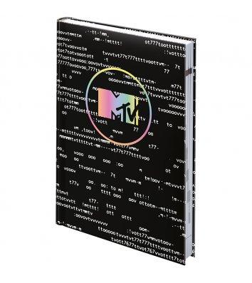 Щоденник недатований A5 Графо MTV-1 чорний, Brunnen