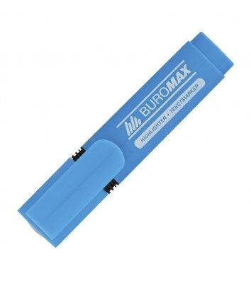 Маркер текстовый, цвет чернил синий 2-4мм, Buromax