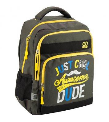 "Рюкзак шкільний ""Awesome dude"" GoPack, Kite"