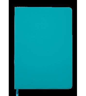 Діловий записник клітинка А5 Touch бірюзовий, Buromax