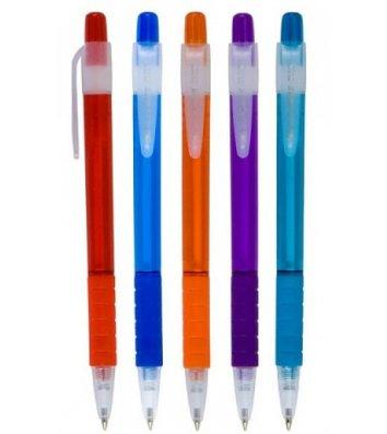 Ручка шариковая автоматическая, цвет чернил синий 0,7мм, Buromax