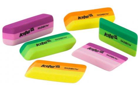 "Ластик для карандаша ""Rainbow"" ассорти, Kite"