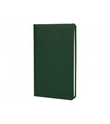 Деловая записная книжка нелинованная А5 Vivella зеленая, Optima