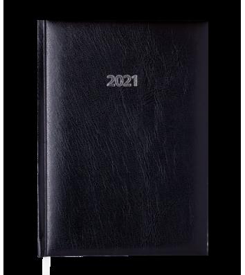 Ежедневник датированный A5 2021 Expert черный, Buromax