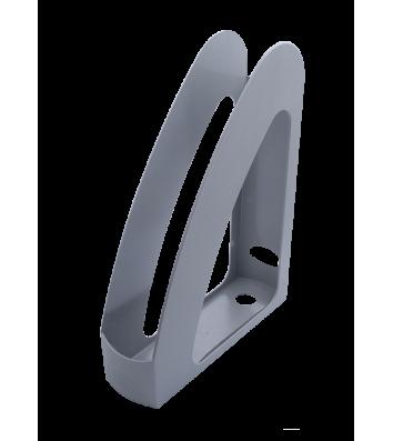 Лоток вертикальний пластиковий сірий, Arnika