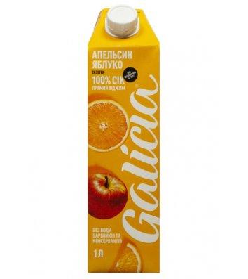 Папка А4 пластикова на блискавці жовта, Economix