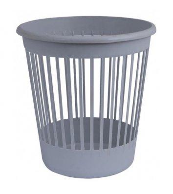 Корзина для сміття пластикова сіра 10л, Arnika