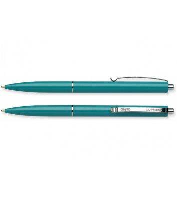 Ручка шариковая автоматическая К15, корпус зеленый, цвет чернил зеленый 0,7мм, Schneider