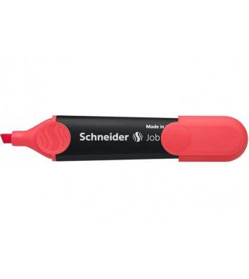 Маркер текстовый Job 150, цвет чернил красный 1-4,5мм, Schneider