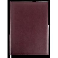 Щоденник недатований A4 Base бордовий, Buromax