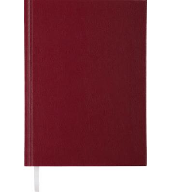Щоденник недатований А5 Strong бордовий, Buromax