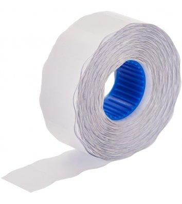 Етикетки-цінники 26*12мм 1000шт фігурні білі