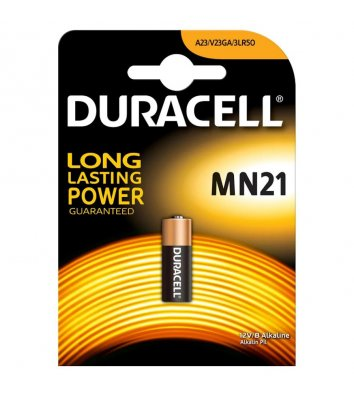 Батарейка Duracell MN21 A23 1шт