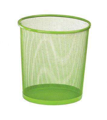 Корзина для сміття металева салатова 10л, Zibi