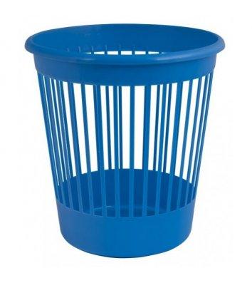 Корзина для сміття пластикова синя 10л, Arnika