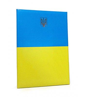 "Папка до підпису A4 жовто-блакитна ""Герб"""