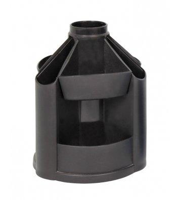 Підставка канцелярська пластикова чорна B23, Кип