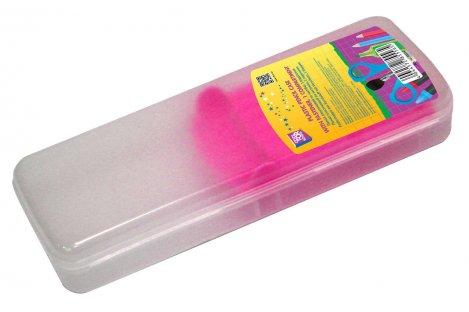 Пенал пластиковый 1 отделение на застежке, Cool for School