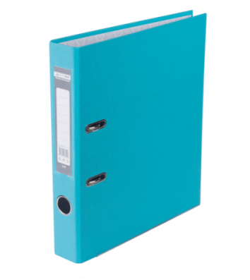 Папка-реєстратор А4 50мм одностороння блакитна Lux, Buromax