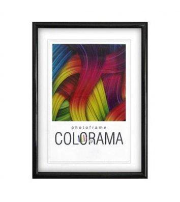 Фоторамка 10*15см пластикова чорна, La Colorama