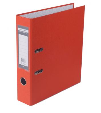 Папка-реєстратор А4 70мм одностороння помаранчева Lux, Buromax