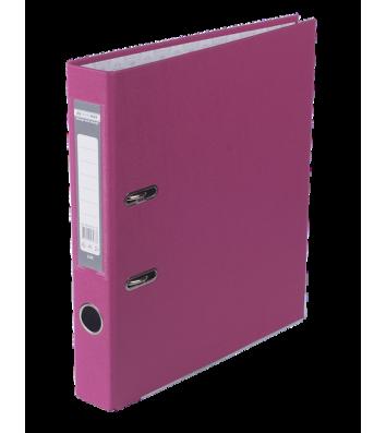 Папка-реєстратор А4 50мм одностороння рожева Lux, Buromax