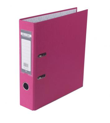 Папка-реєстратор А4 70мм одностороння рожева Lux, Buromax