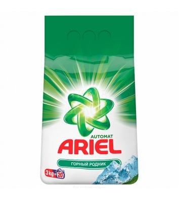 Засіб для прання Ariel 3кг автомат, гірське джерело