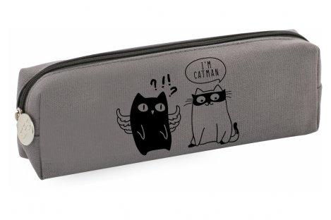 Пенал мягкий 1 отделение на молнии Cats, Cool for School