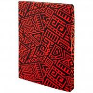 Блокнот А5 128арк в крапку/нелінований The Runes червоний, Axent