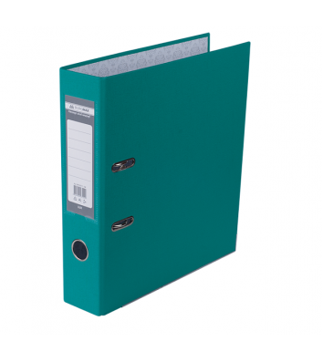 Папка-регистратор А4 70мм односторонняя бирюзовая Lux, Buromax